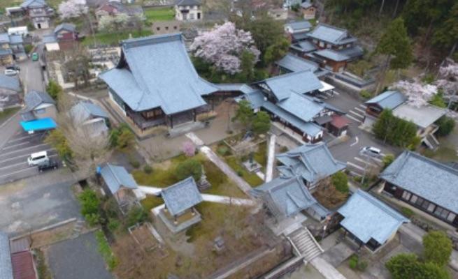 粟生寺(ショクショウジ)空撮