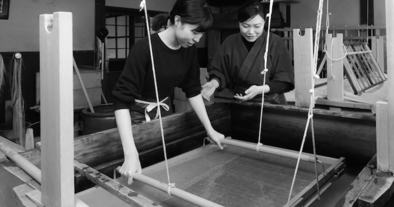 伝統工芸:越前和紙の里