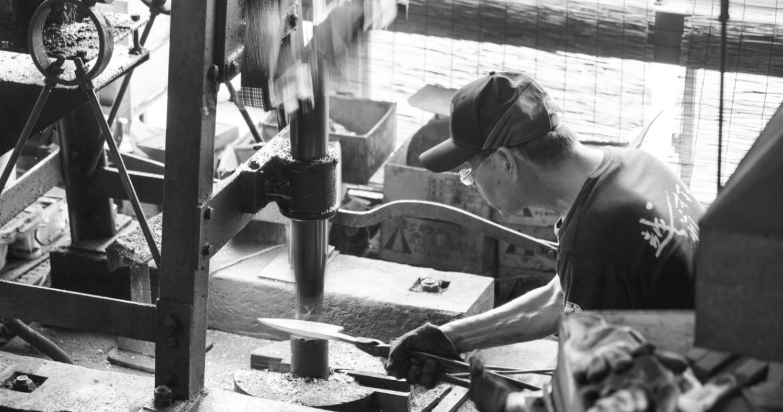 伝統工芸:越前打刃物の里